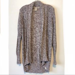 Roxy Cotton Open Front Cardigan Sweater